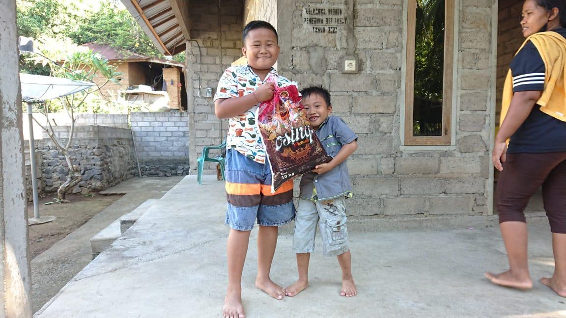 Ein Danke aus Bali: Unterstützung nordbalinesischer Familien!