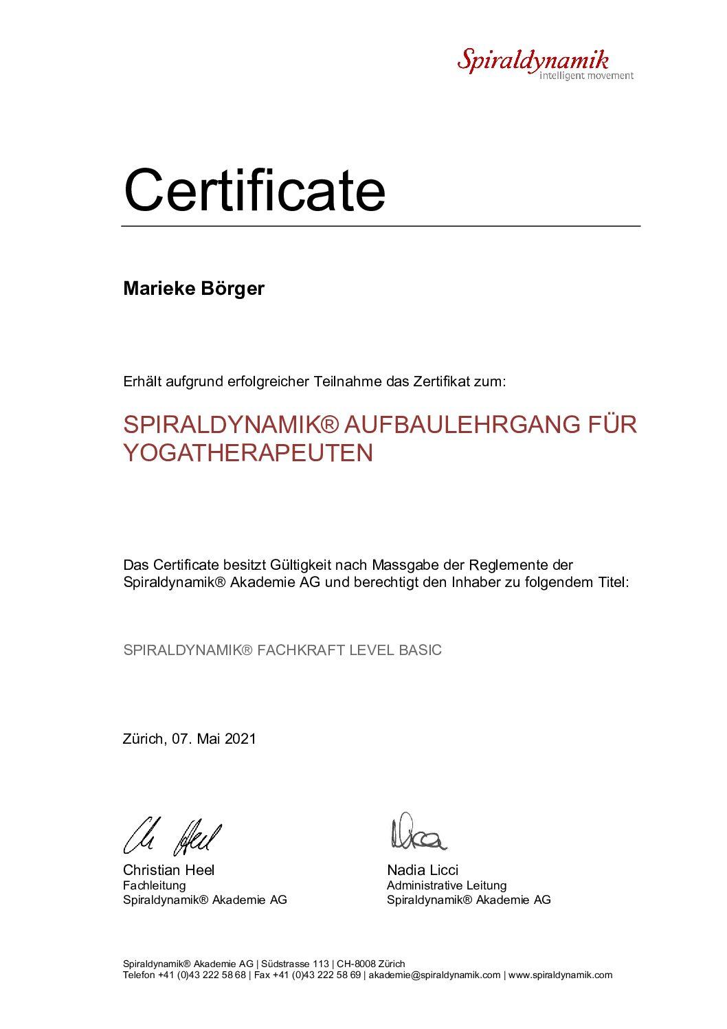 Meine neue Liebe: Die Spiraldynamik®!